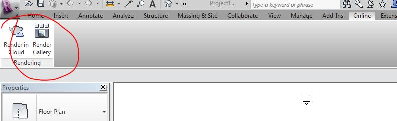 Test cloud rendering in revit 2012 para analytics for Online rendering tool