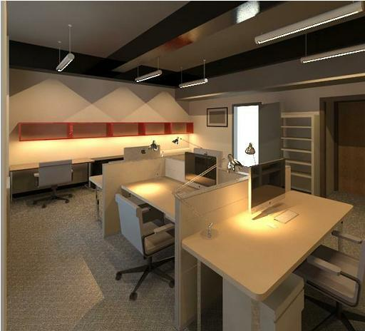 Our Office Rendered Using Revit