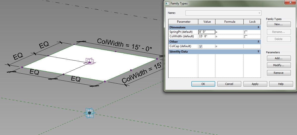 Revit Adaptive Components: Practical Archetypes: The Vaulted Ceiling