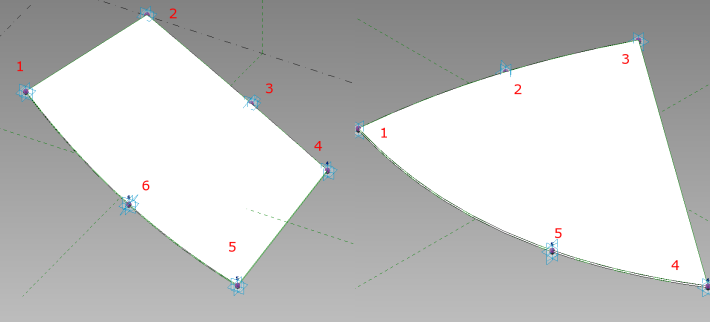 Adaptive Components for Vault Surfaces. For this particular exercise, I need to use 5 & 6 pointed surfaces.